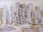 CITY ON THE RIVER by Susie Stockholm Collage