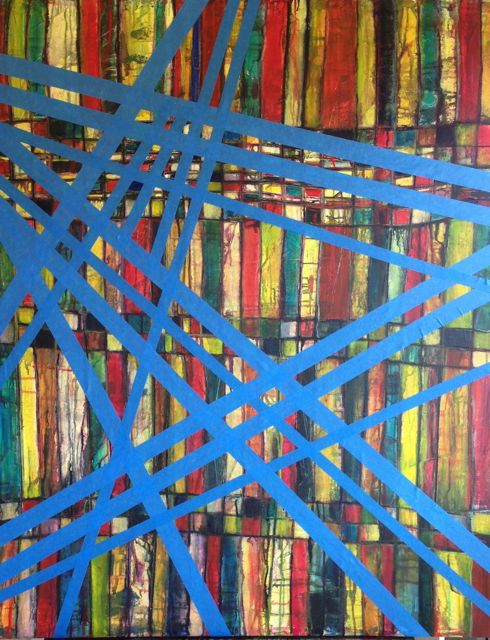 """GridWorks 2"" - taped"
