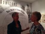 Susie & Launa SPARC opening reception Duron Gallery works of Edward Biberman