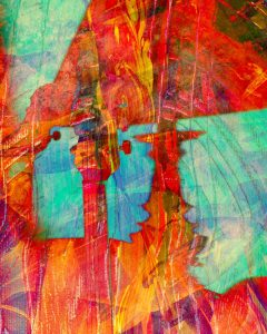 """""""Night Music Sunset"""" - iPhoneography and iPad art printed on metal - any size, the larger the better!"""