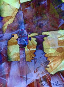 """""""Night Music"""" - iPhoneography, iPad art printed on metal, any size, the larger the better!"""
